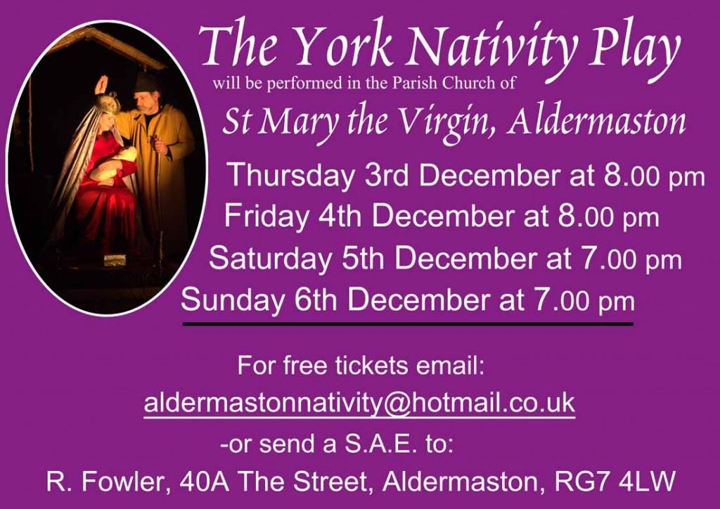 Aldermaston Nativity Poster 2015