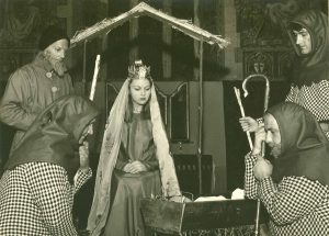 Joseph, Mary and the Shepherds in the early 1960s