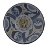 Commemorative bowl for 60th year in 2016