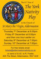 Aldermaston York Nativity Play 2017