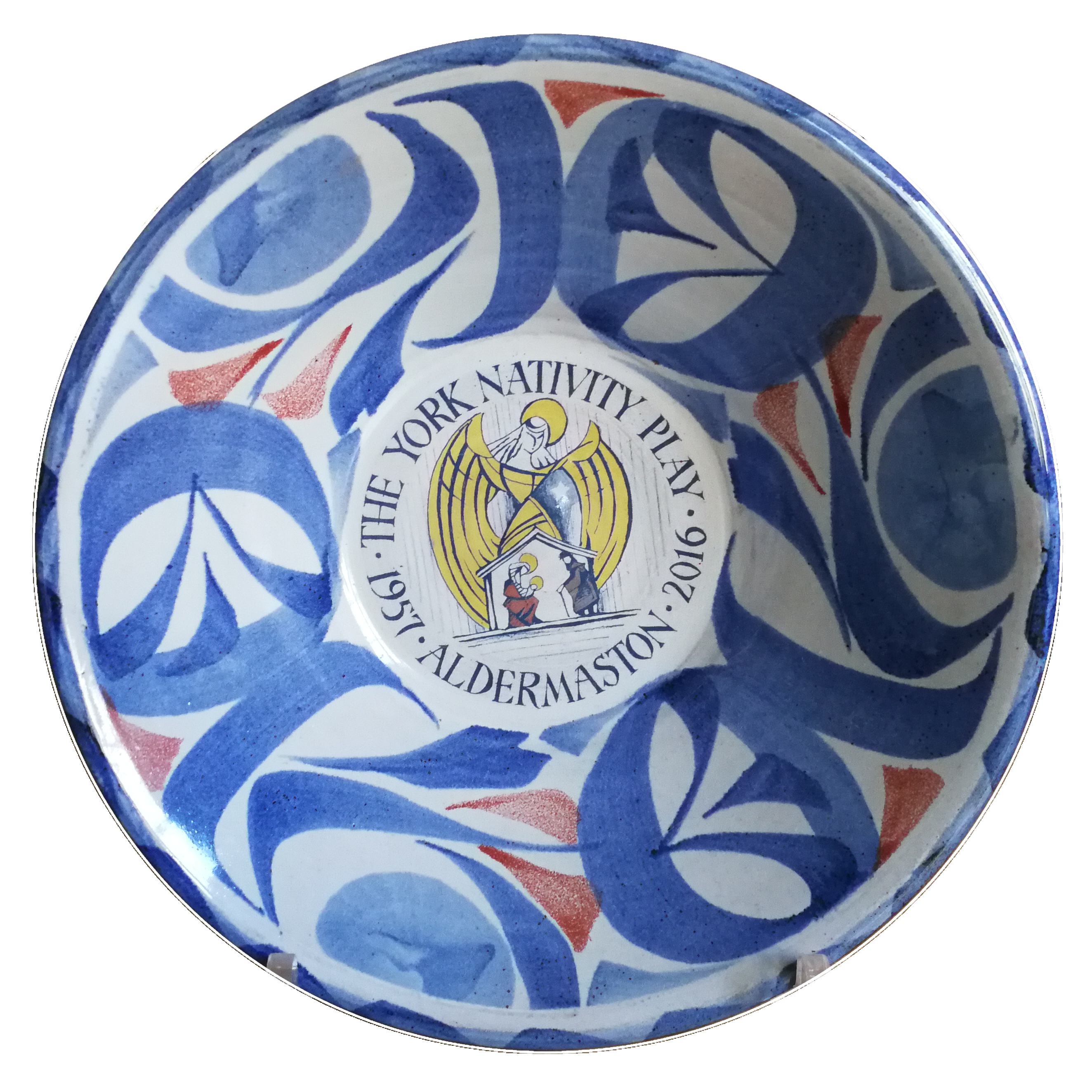 Commemorative bowl for 60th Anniversary in 2016