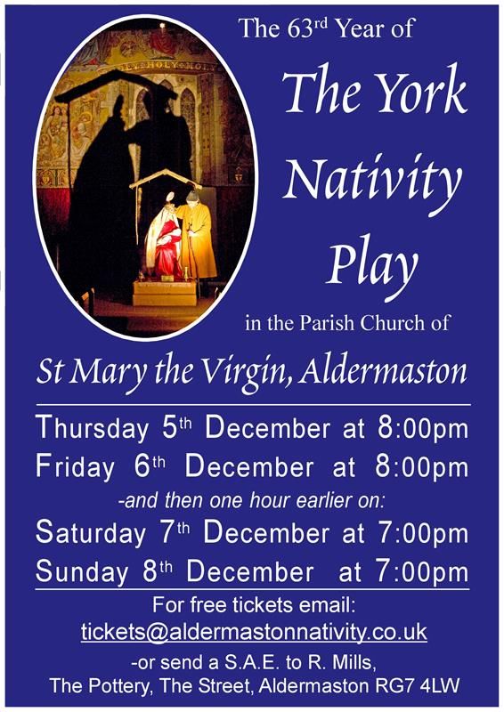 Aldermaston York Nativity Play 2019